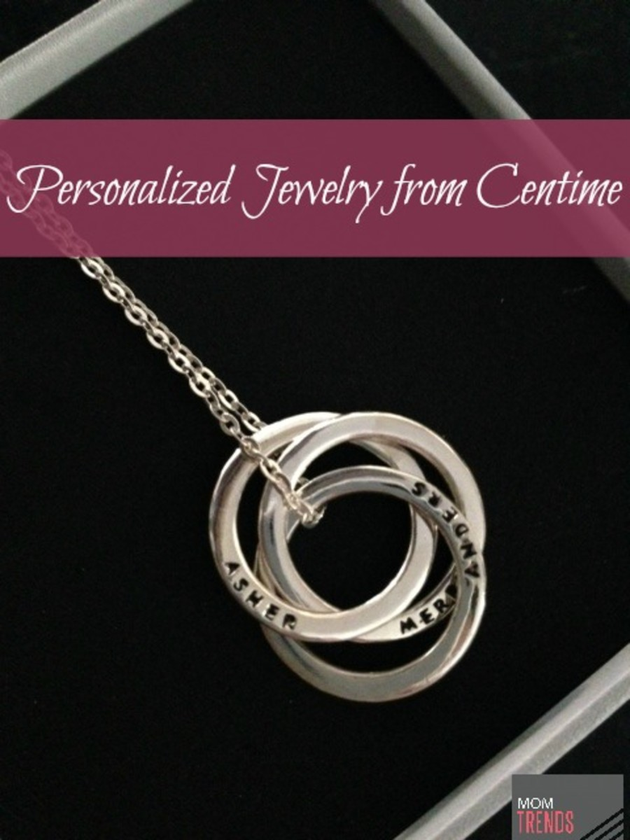 Centime Personalized Jewelry