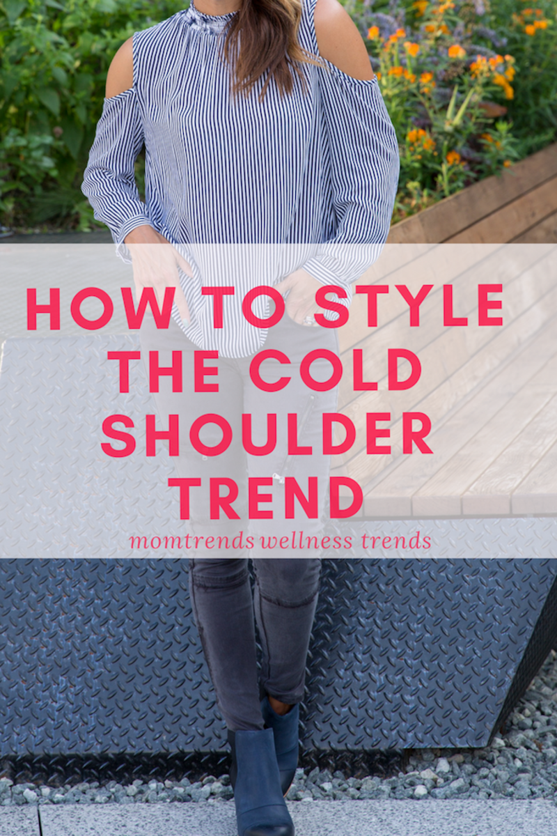 How to Style the Cold Shoulder Trend #fashion #stylingtips #falloutfits