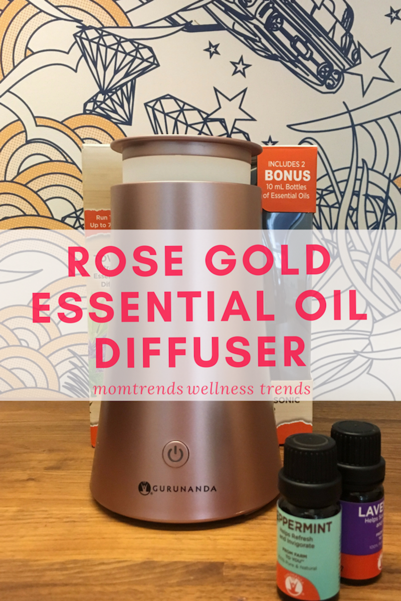 Rose Gold Essential Oil Diffuser