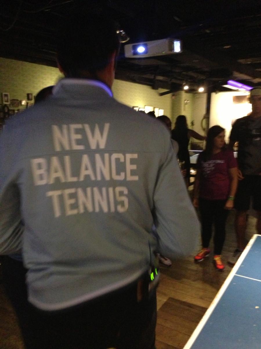 New Balance Tennis apparel worn by Milos Raonic