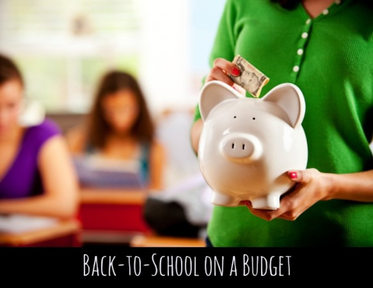 back to school tips, budget tips