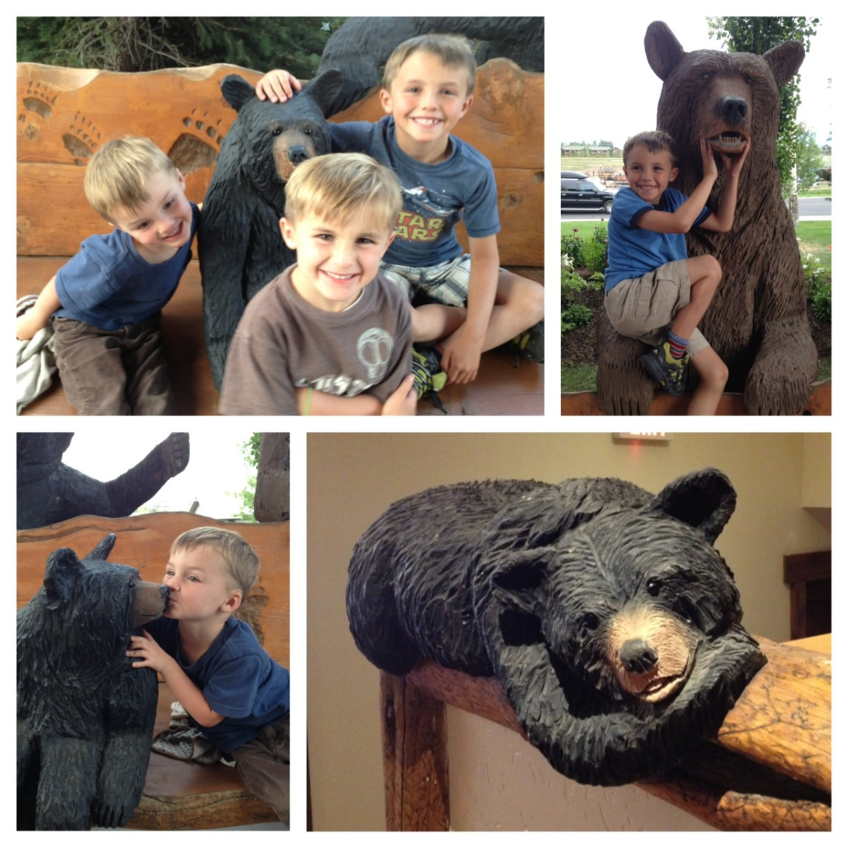 Snake River Lodge bears
