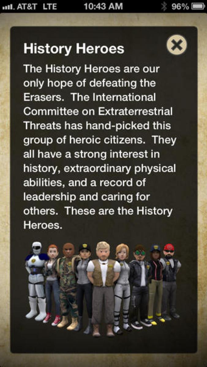 History Hero App