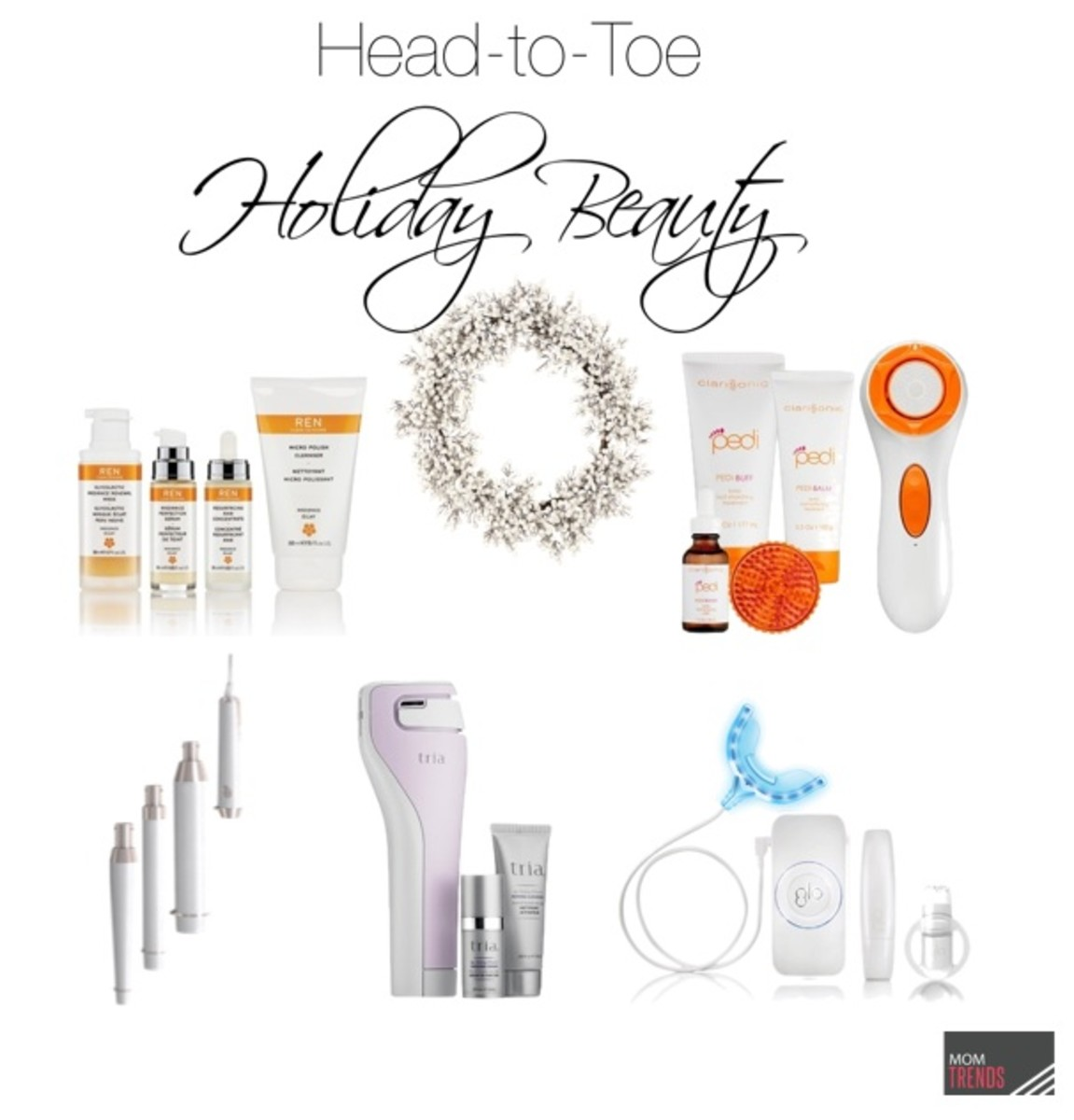 Head to Toe Holiday Beauty