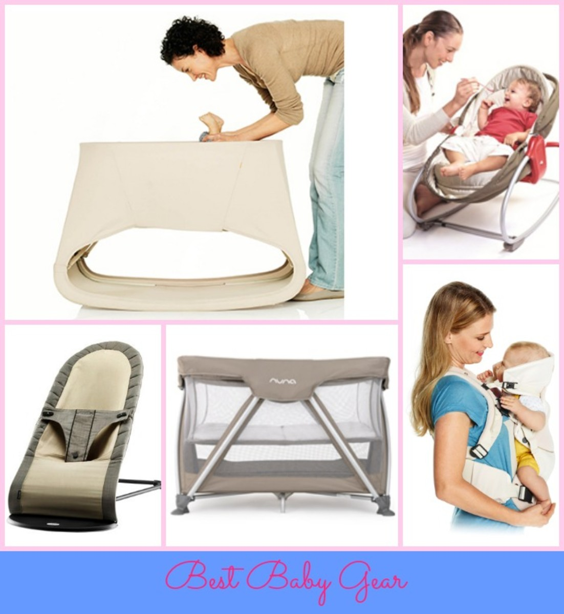 best baby gear, baby essentials, Stokke, bassinet, tiny love, Nuna, babyBjorn, my carrier cool, organic baby items