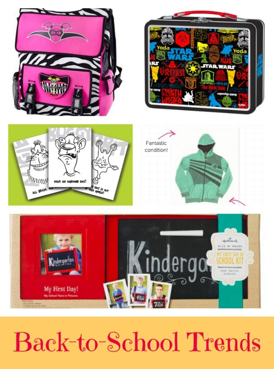 Back-to-School Trends, back to school, momtrends trend report, back to school trends for school, kids