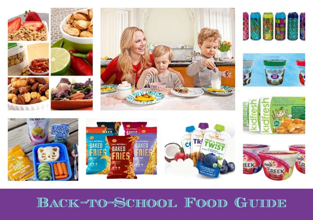 back to school food, food guide, kids