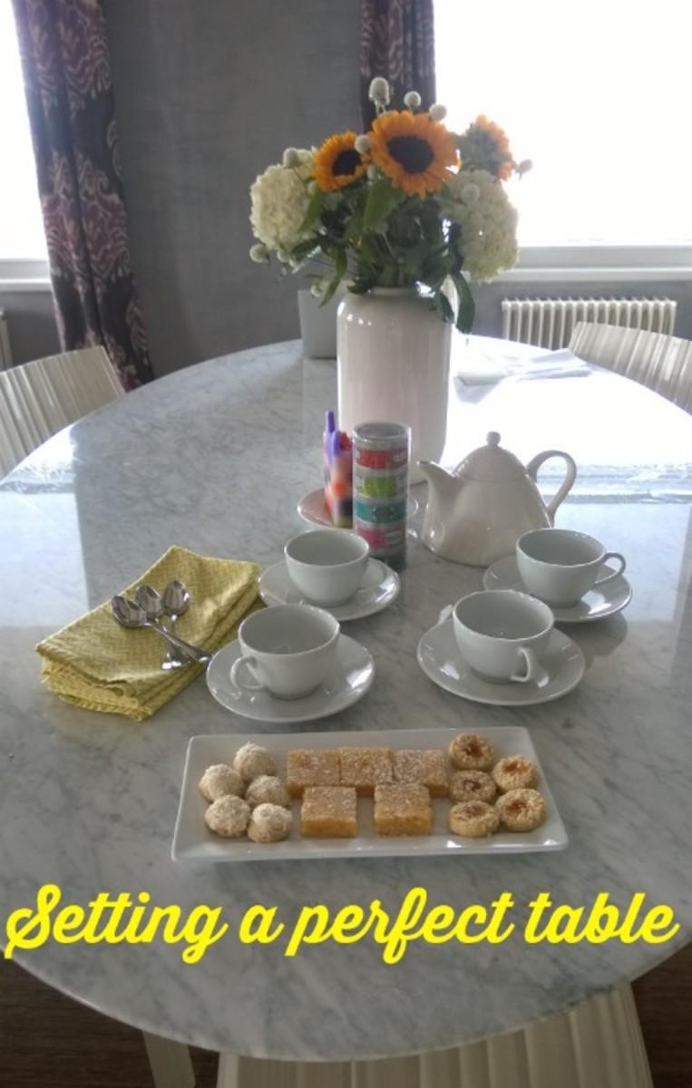 tea party for friends