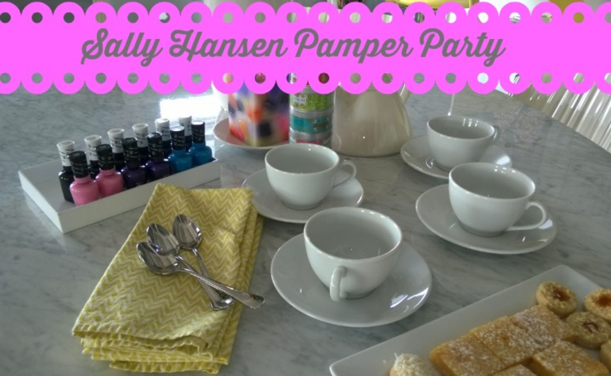 #PamperParty
