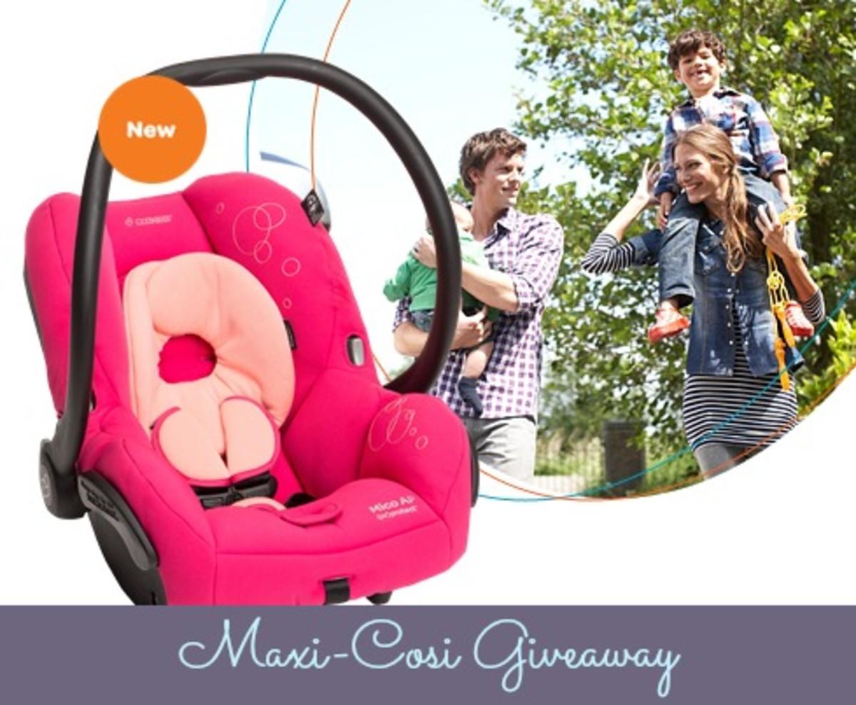 car seats, car seat giveaway, Maxi-Cosi Giveaway, Maxi-Cosi