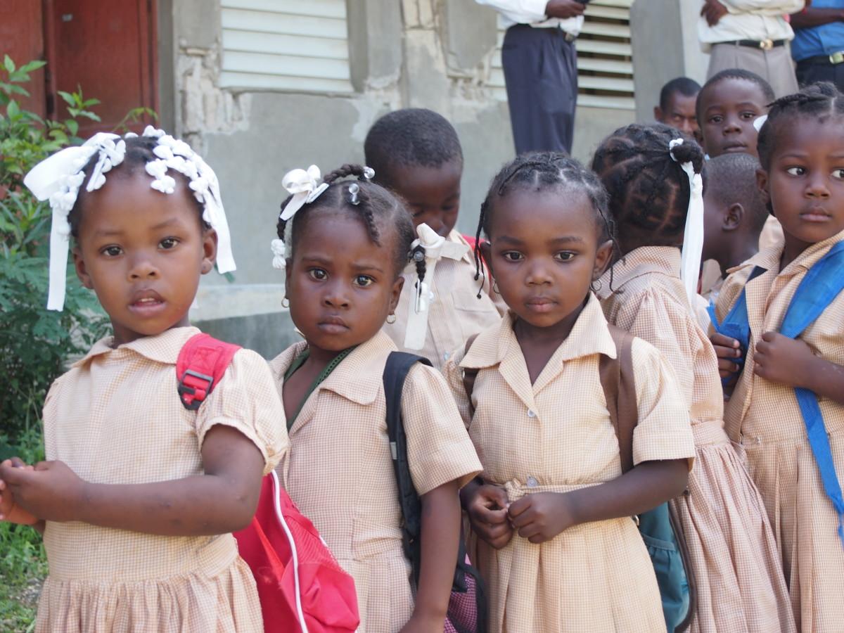 Haitian Schoolkids