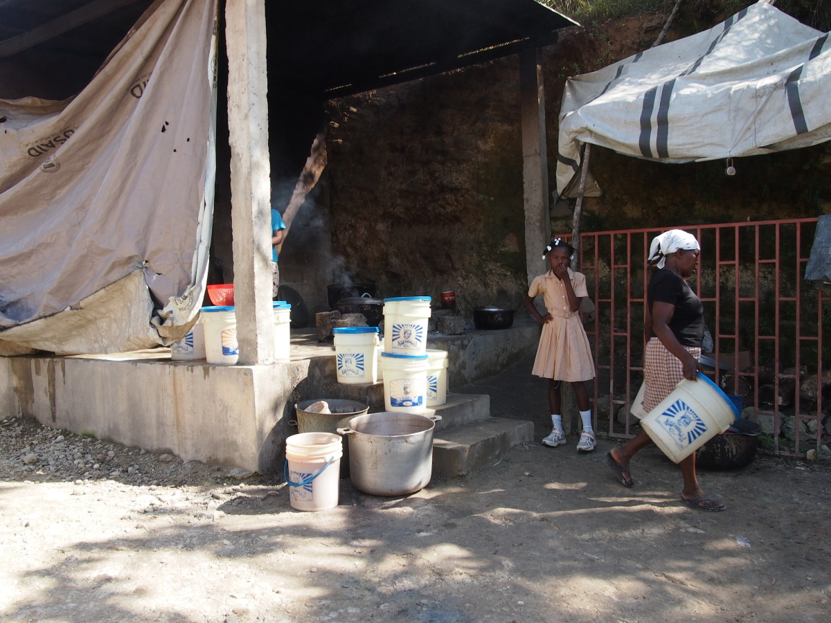 haitian lunch program