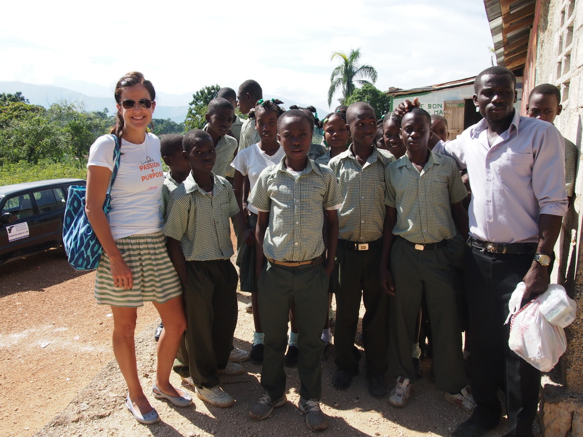 Haiti school kids