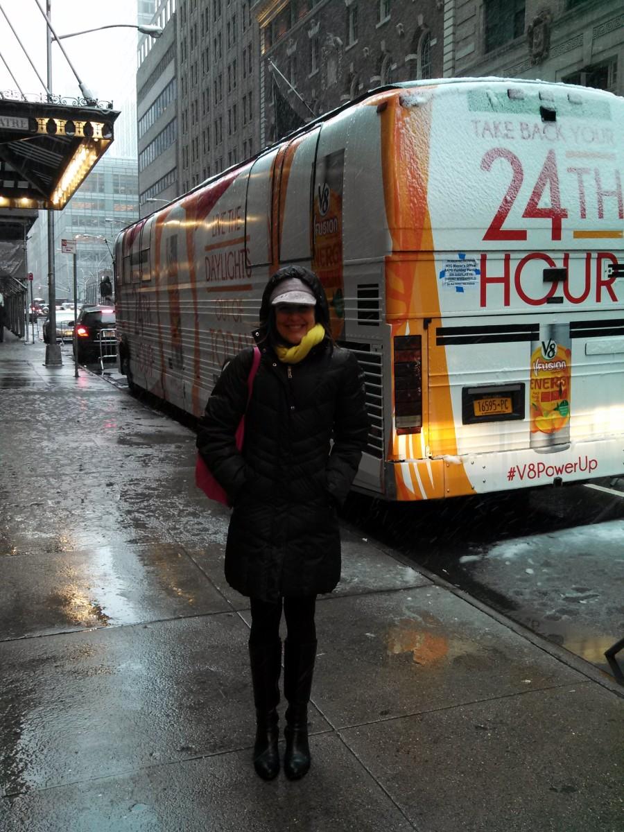 V8 bus