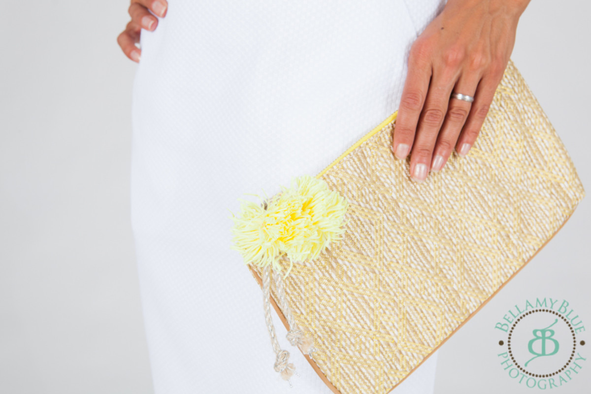 summer bag, straw clutch