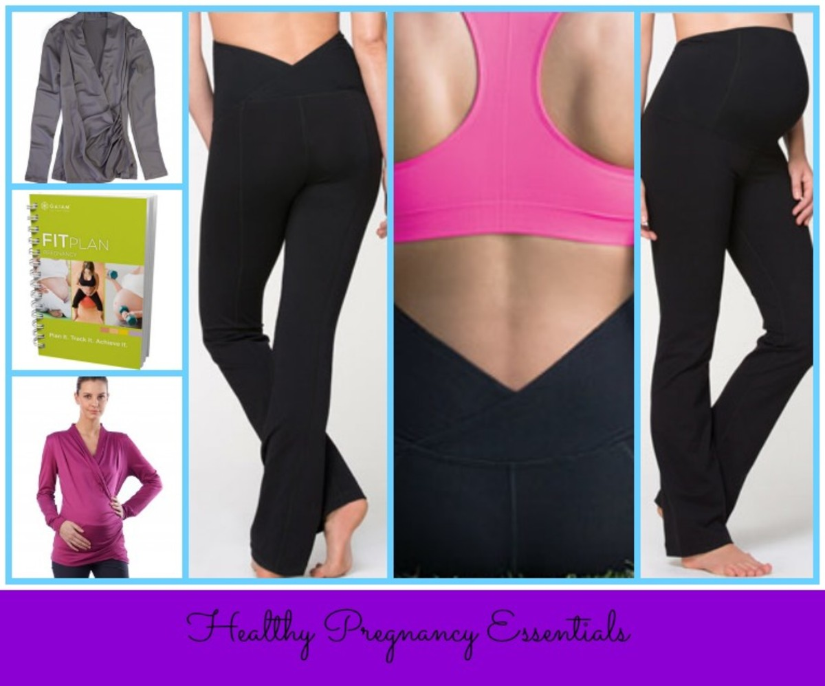 ingrid &isabel yoga pants, fitbump, gaiam pregnancy journal, active pregnancy