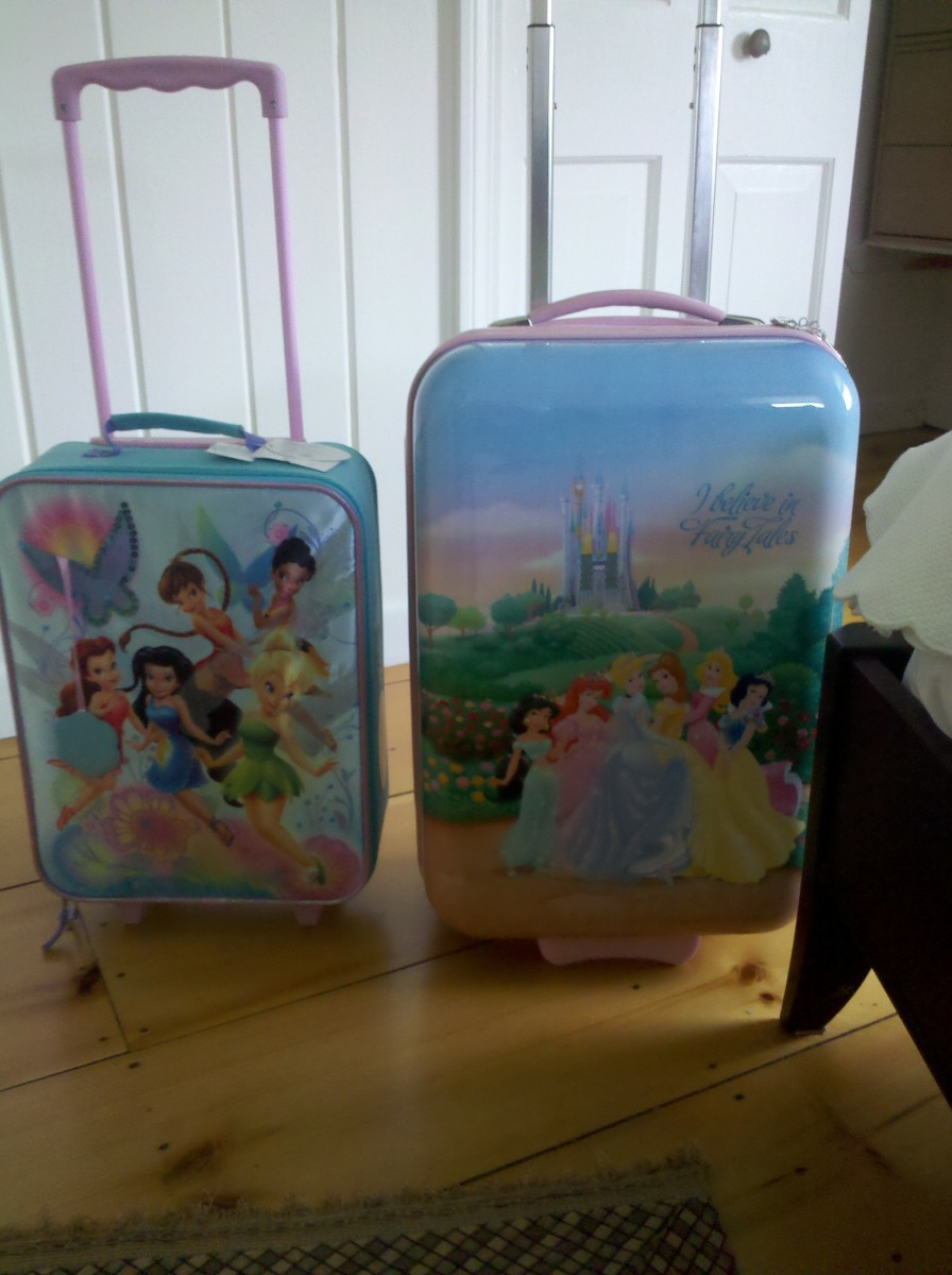 Princess Suitcase For Kids | Luggage And Suitcases