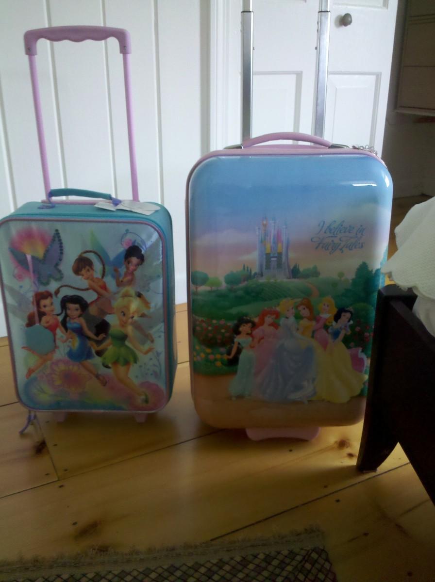 double suitcase