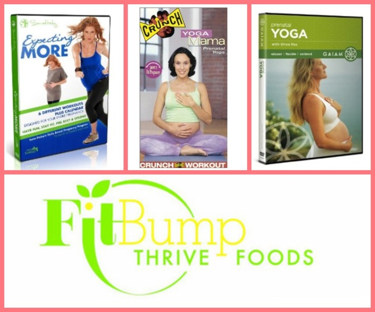 prenatal DVDs, fitbump thrive foods
