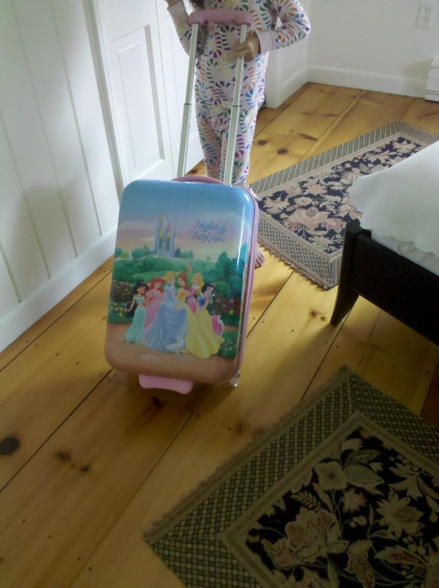 single suitcase