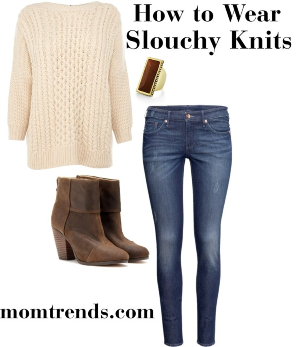 Slouchy Knits and Skinnies