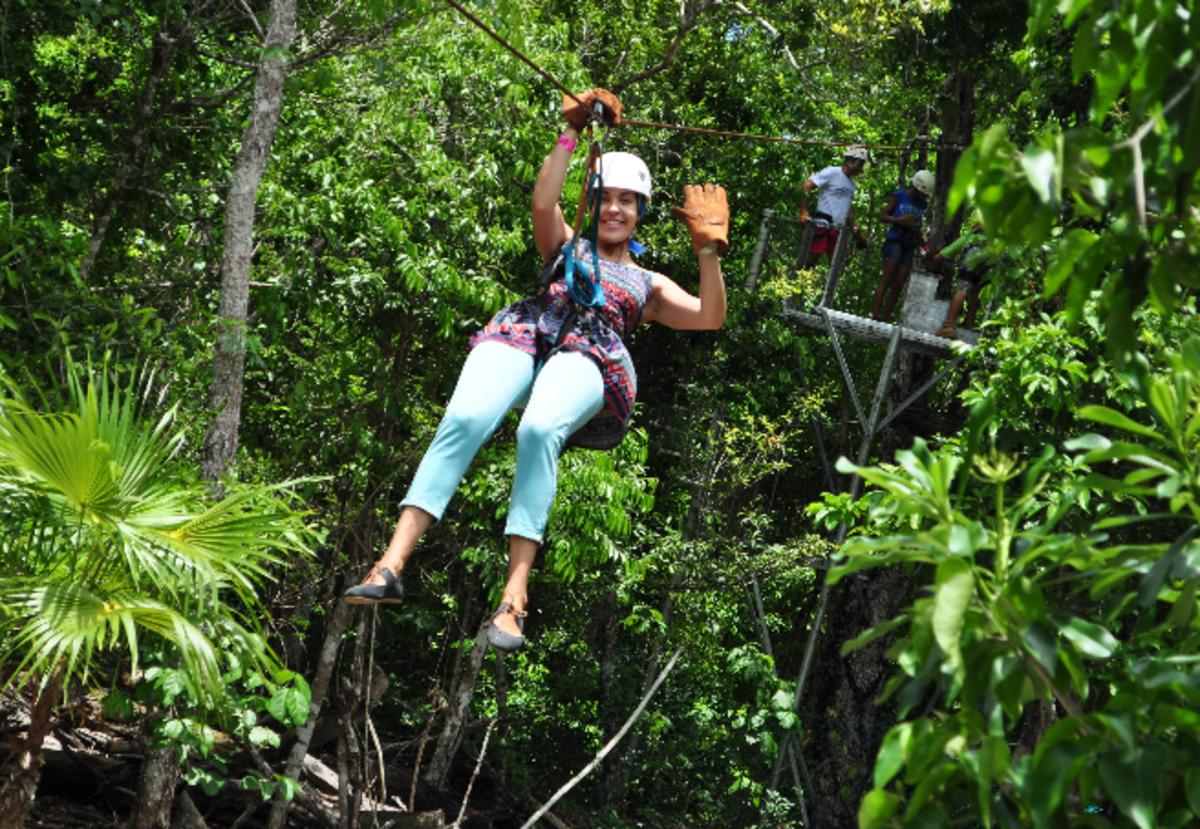 Mexico, adventures in Mexico, ziplining in Mexico