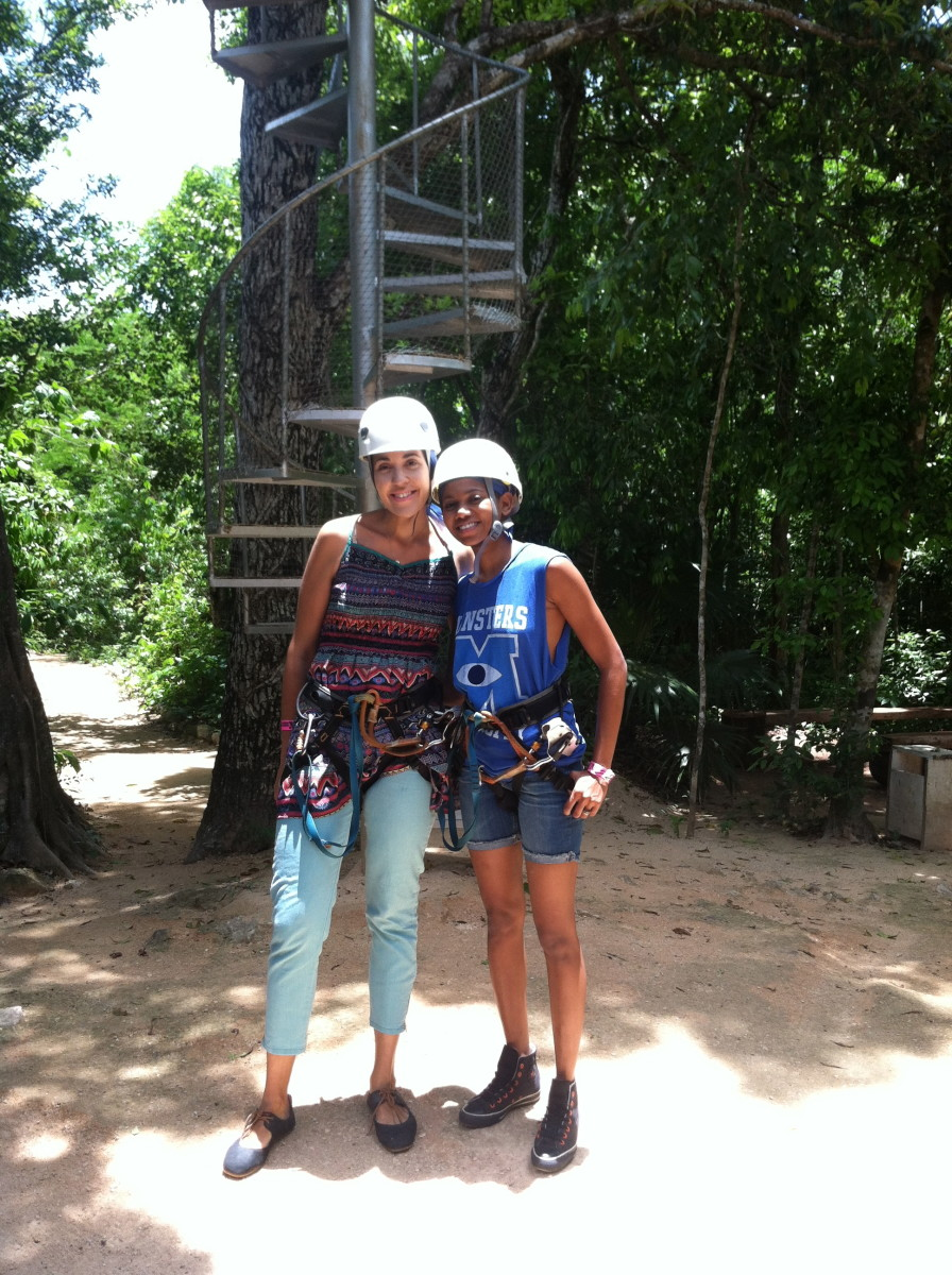 Ziplining in Mexico, Mexico, Mexico travels
