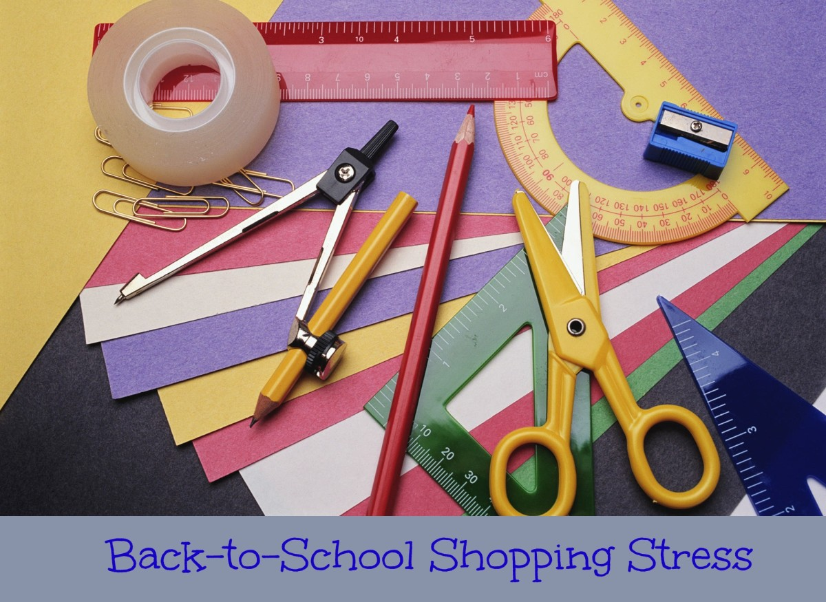 back to school shopping stress, back to school