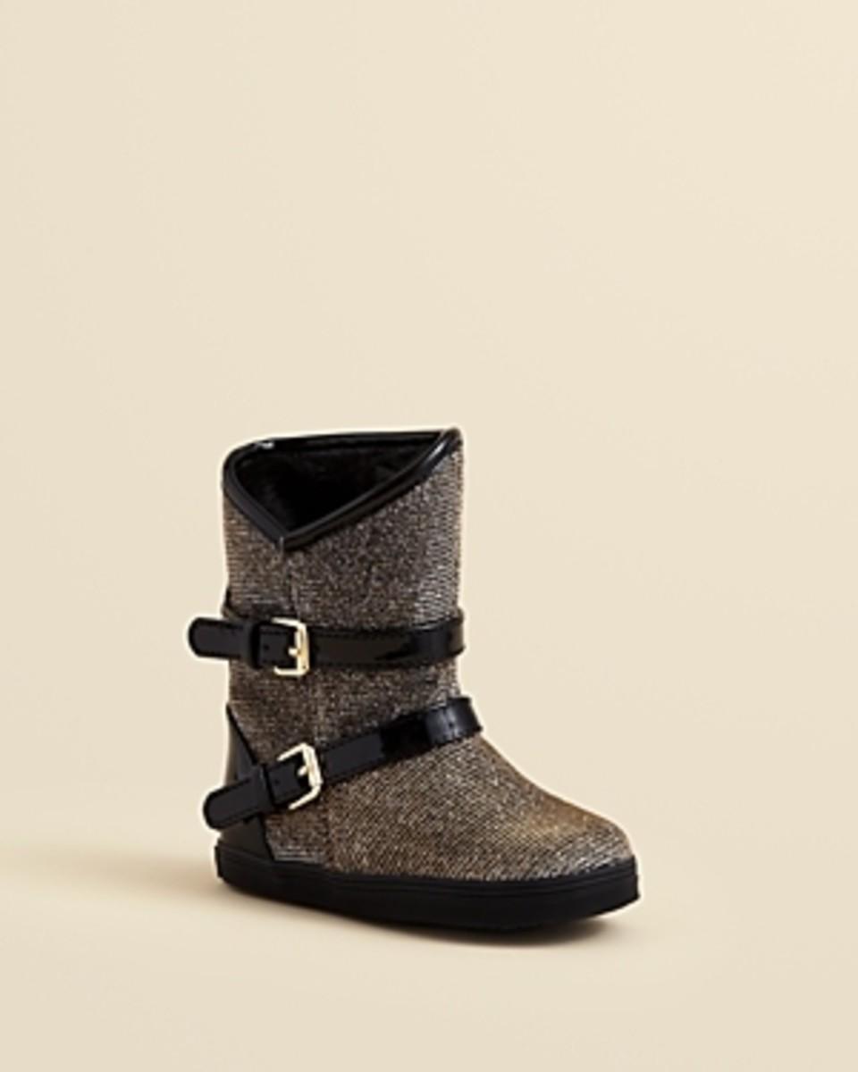 Stuart Weitzman Girls' Baby Vance Snow Boots