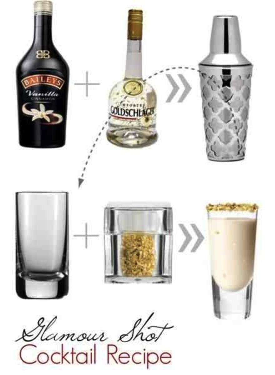 glamour shot, cocktail recipe,
