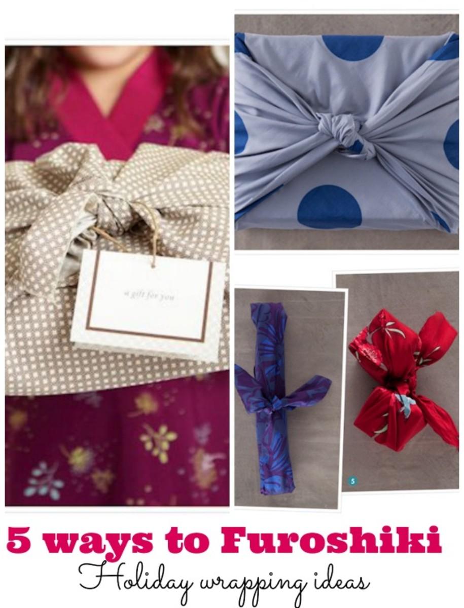 Furoshiki holiday wrapping