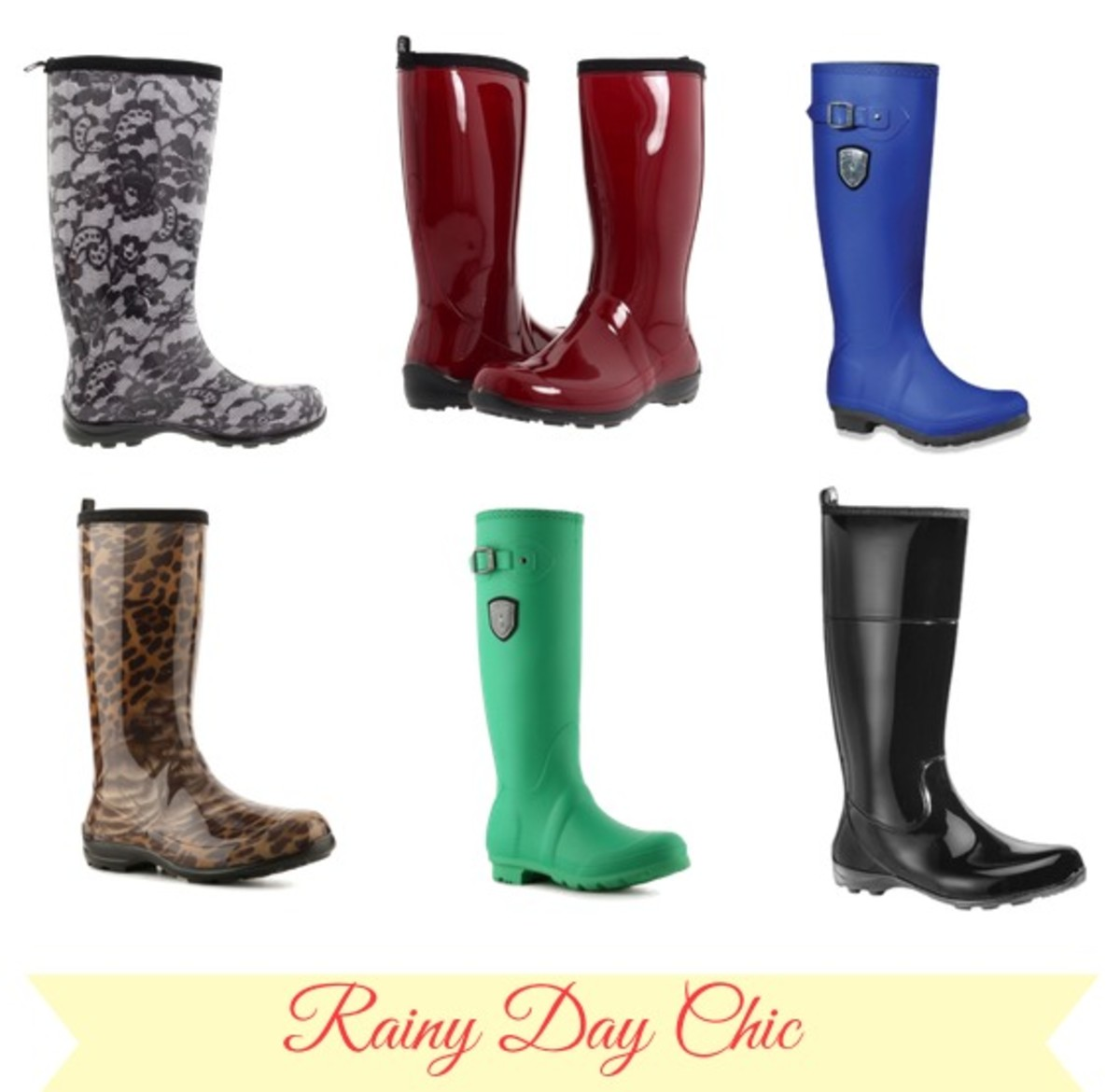 Rainy Day CHic, rain boots