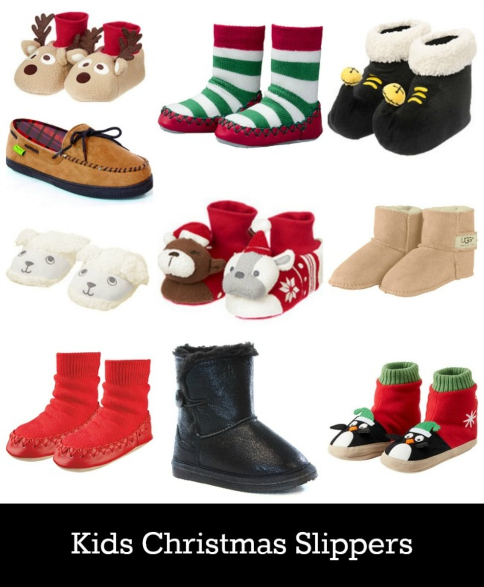 Slippers for Christmas Morning - MomTrends