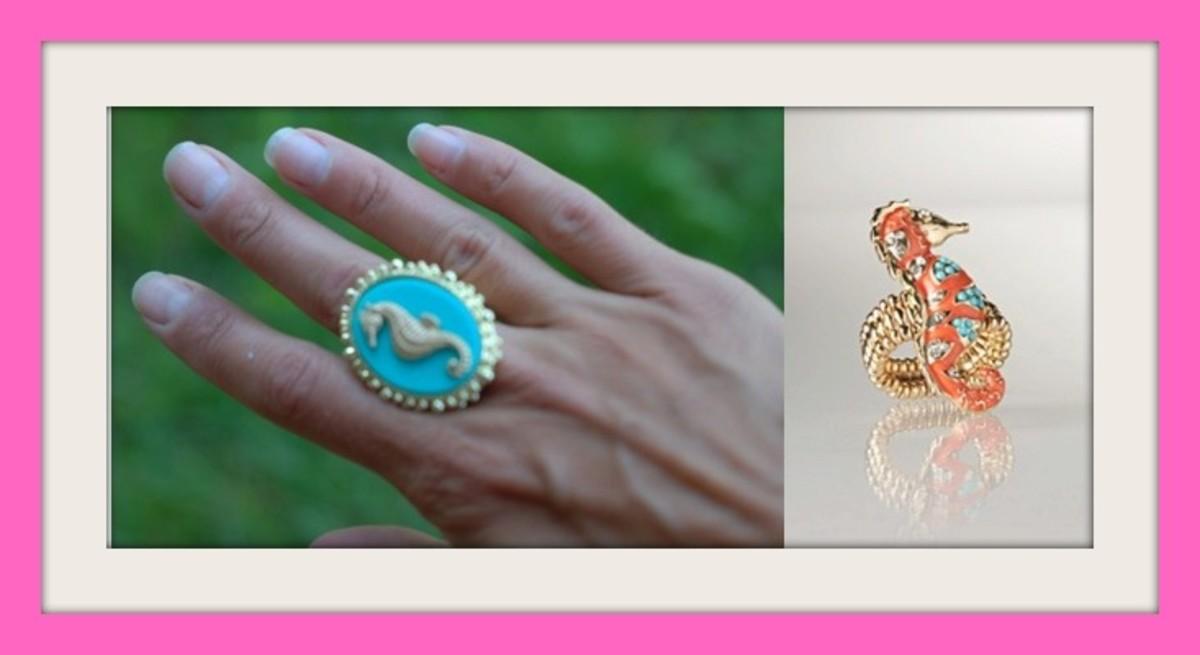 seahorse ring photo