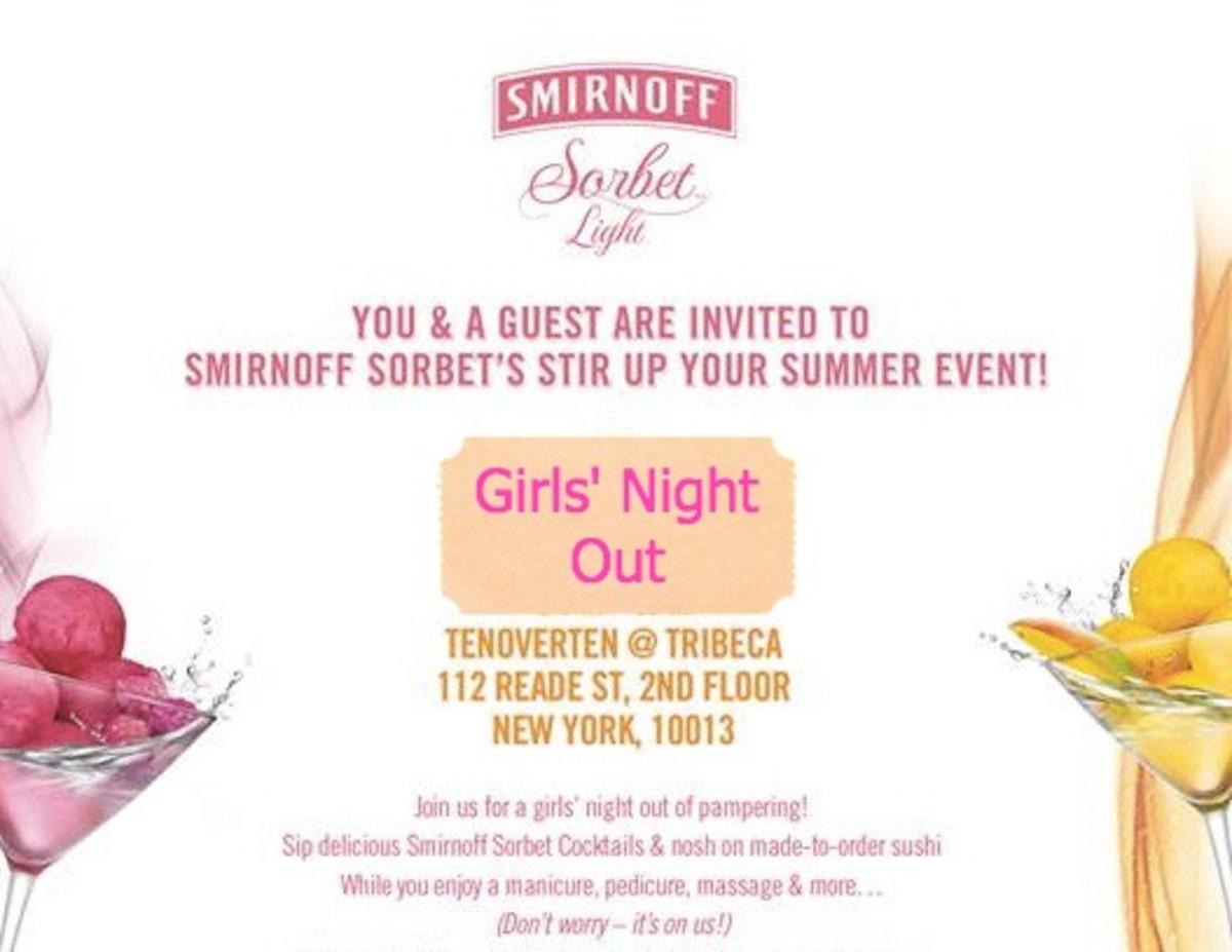 smirnoff invite