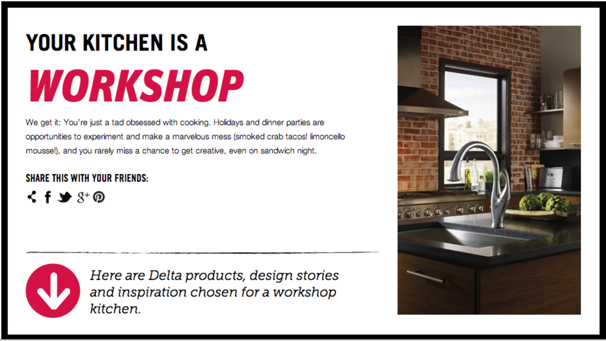 your kitchen is a workshop