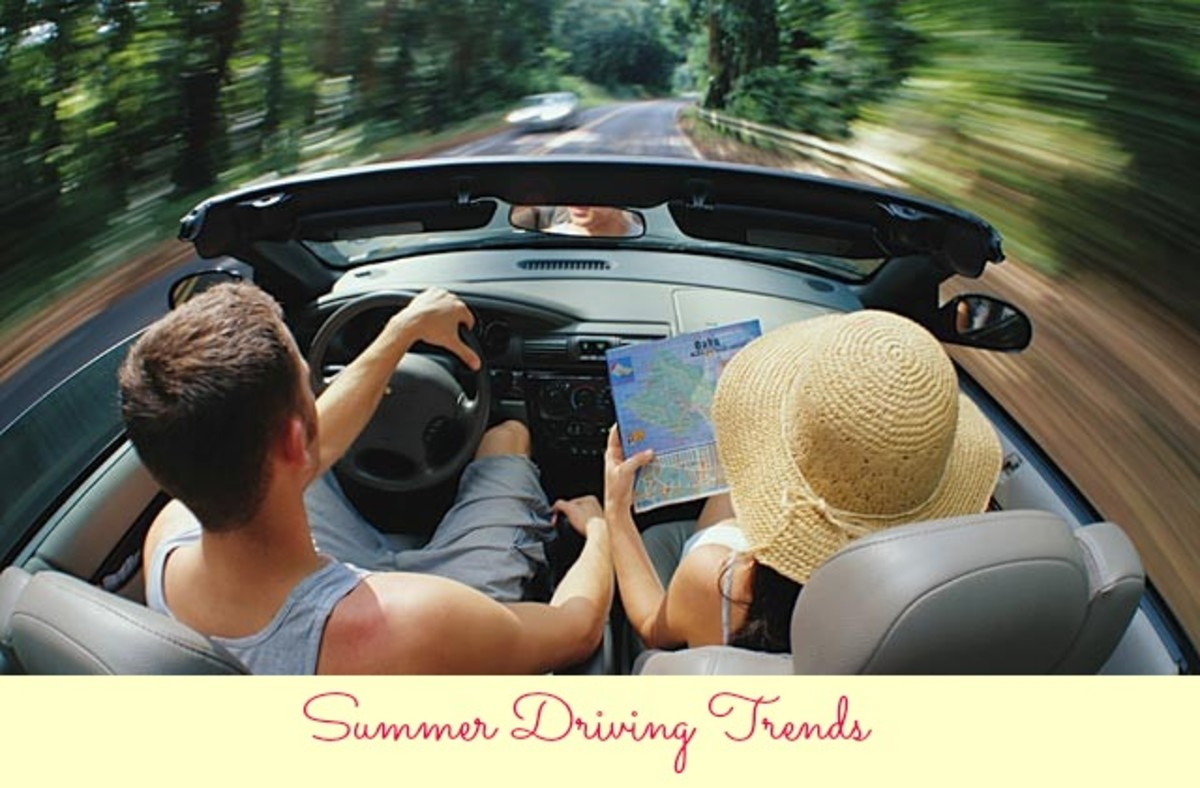 driving, driving trends, summer driving, cars