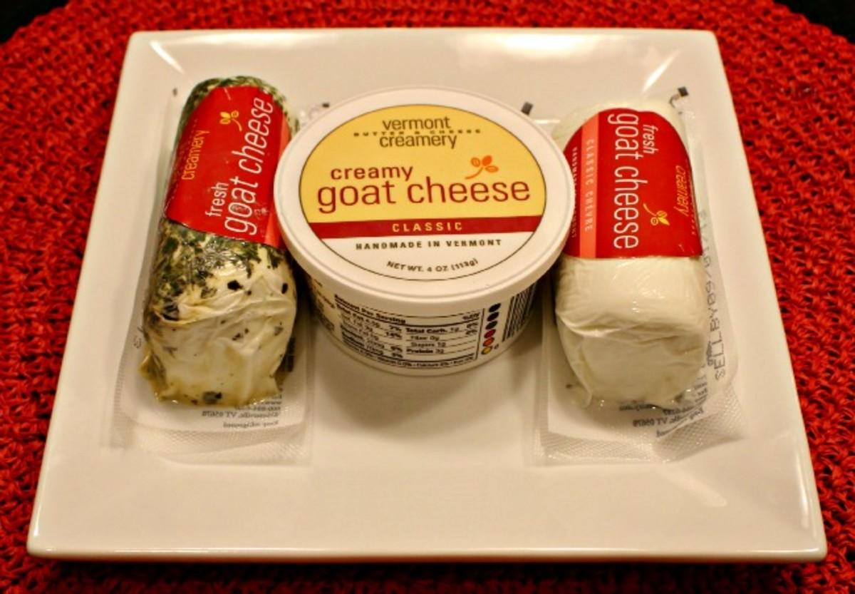 vermont creamery, goat cheese