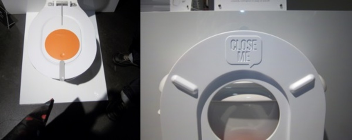 funky toilet