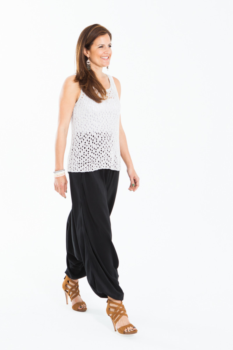 Eileen fisher harem pants plus