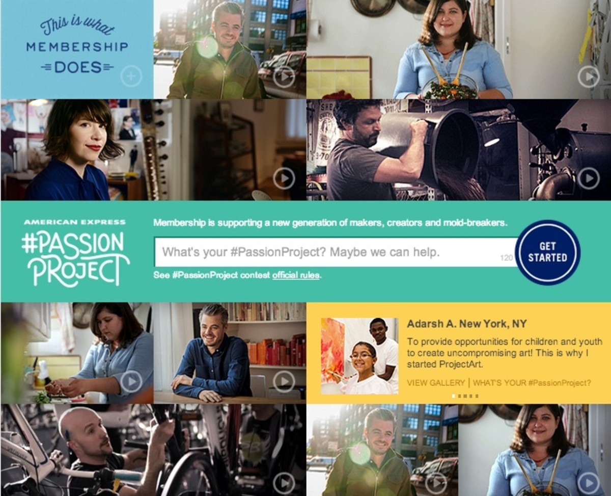 passion project, DIY, live your dreams, small biz inspiration, love your job, american express,