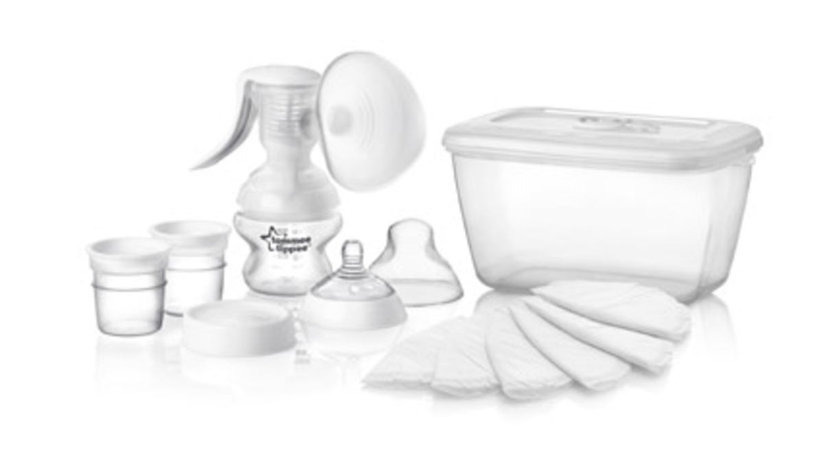 manual breast pump, tommee tippee