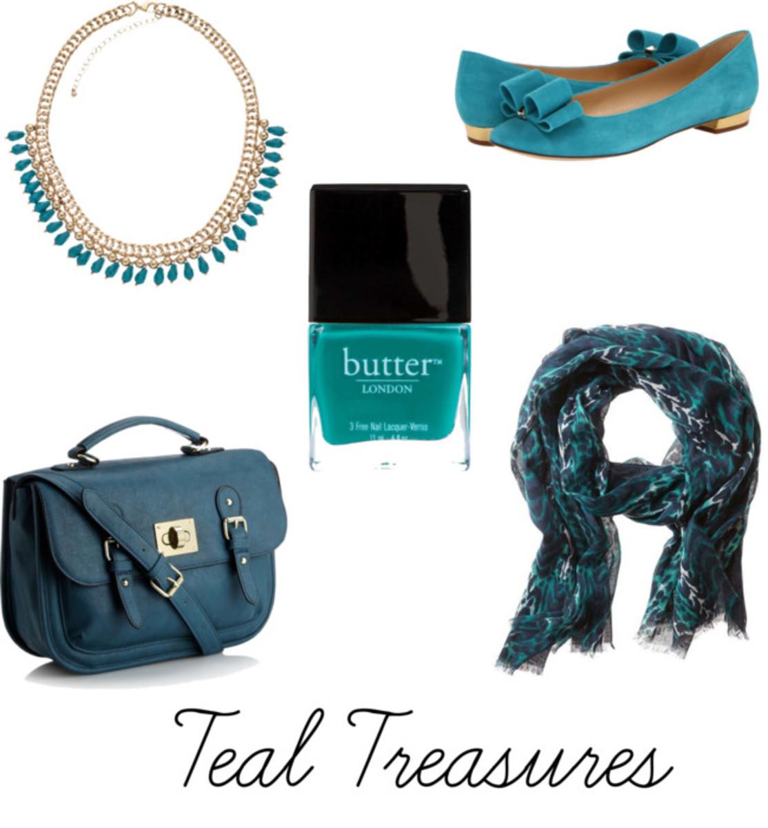 Teal Treasures