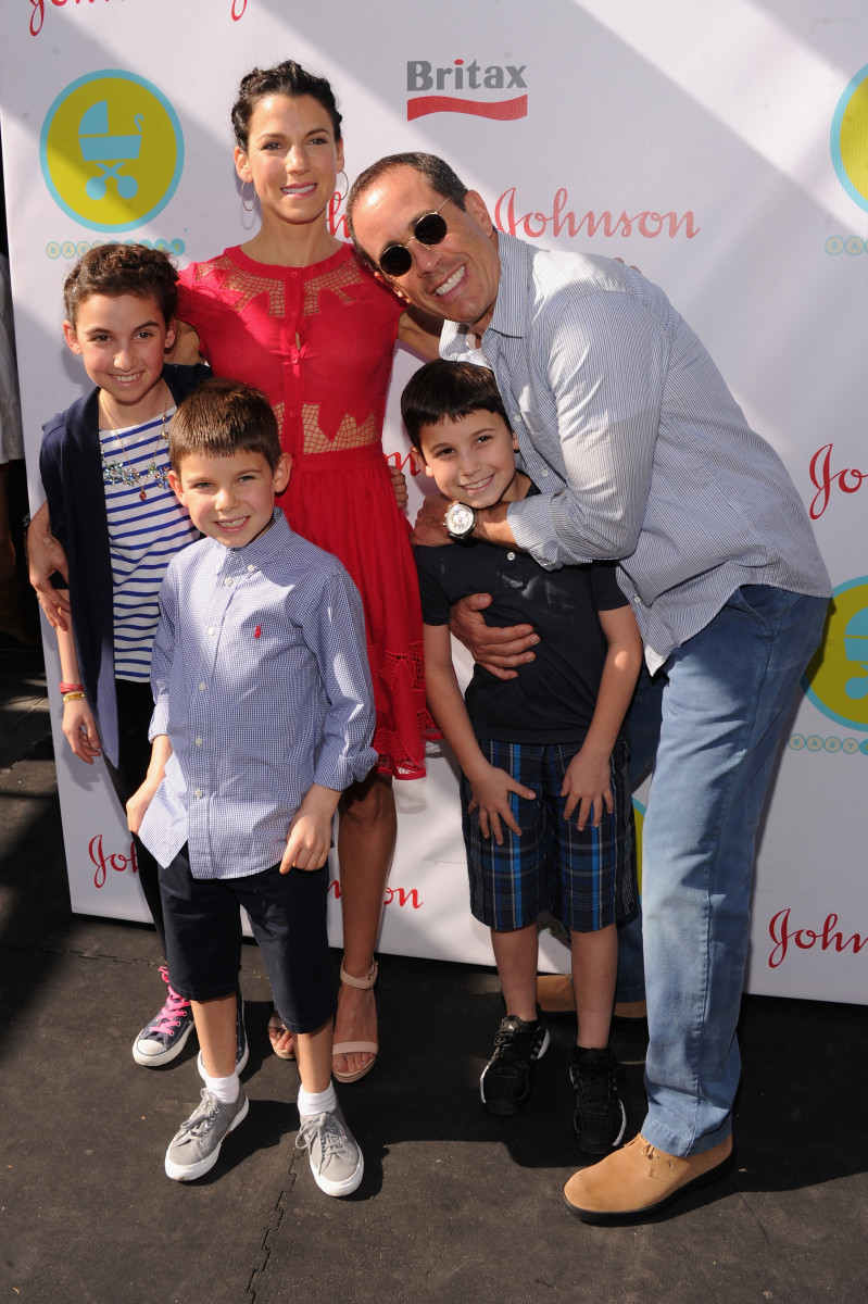 Jessica And Jerry Seinfeld Hosts The 2013 Baby Buggy Bedtime Bash Sponsored By Johnson & Johnson And Britax/Bob