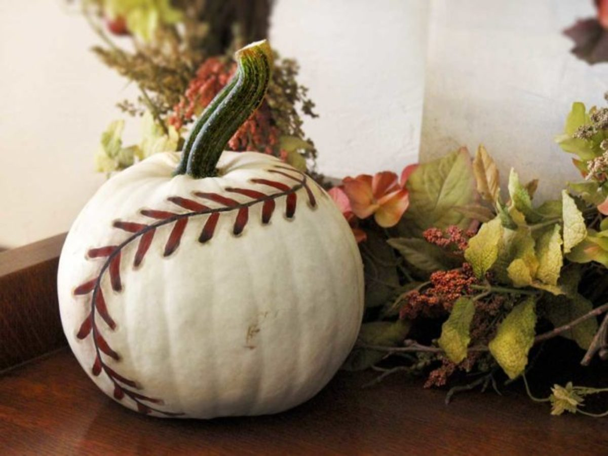 pumpkin baseball