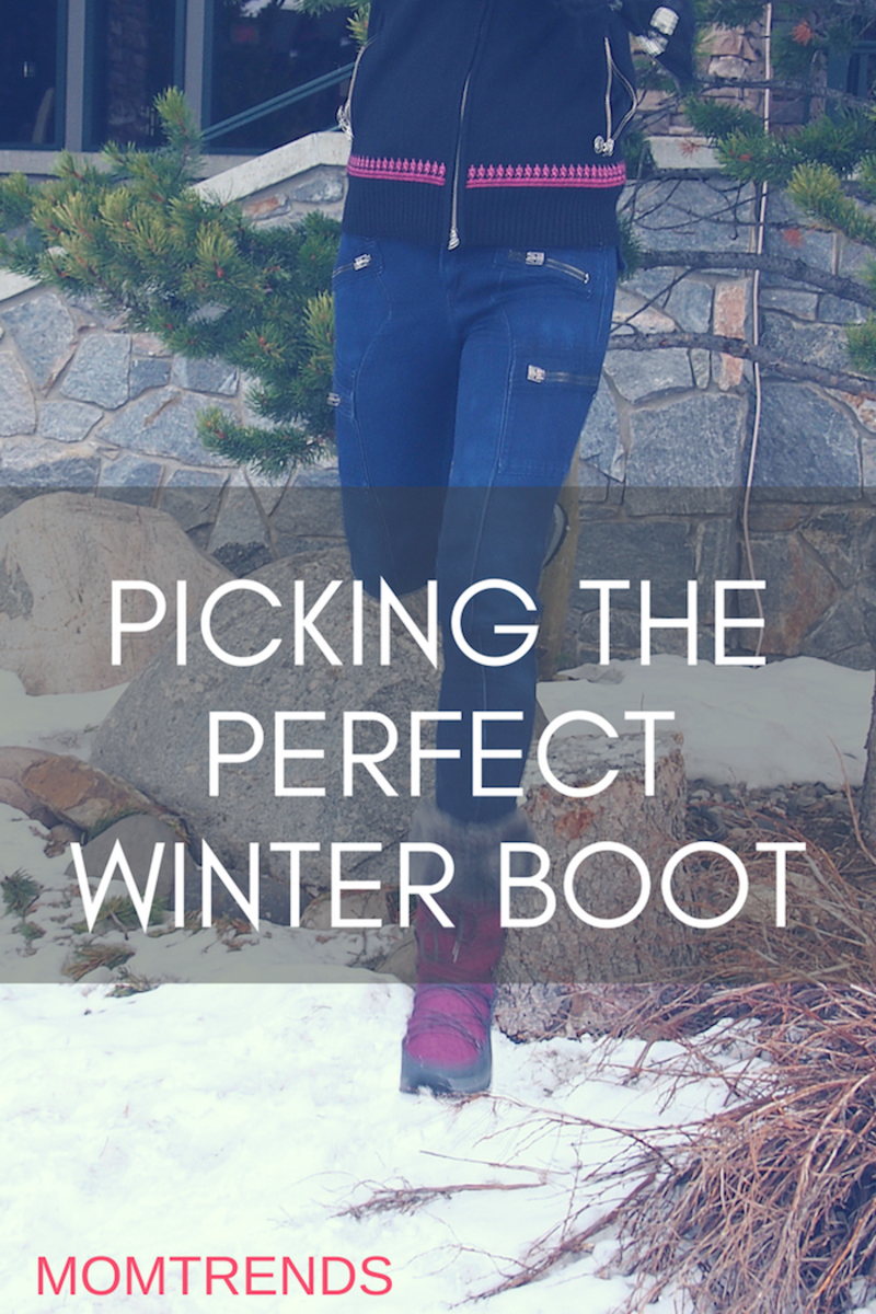 Picking the Perfect Winter Boot #winter #snowboots