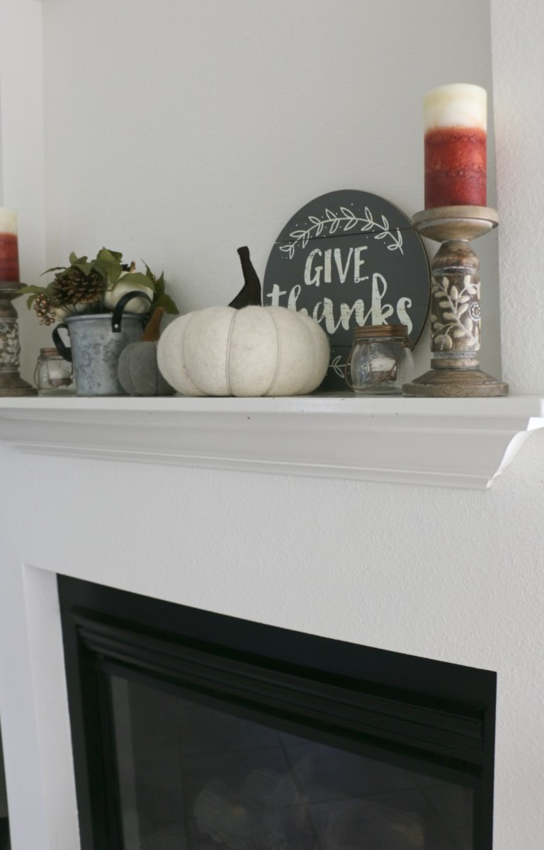 fall mantle decorating tips