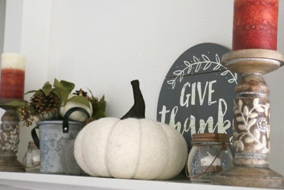 fall mantle decor ideas