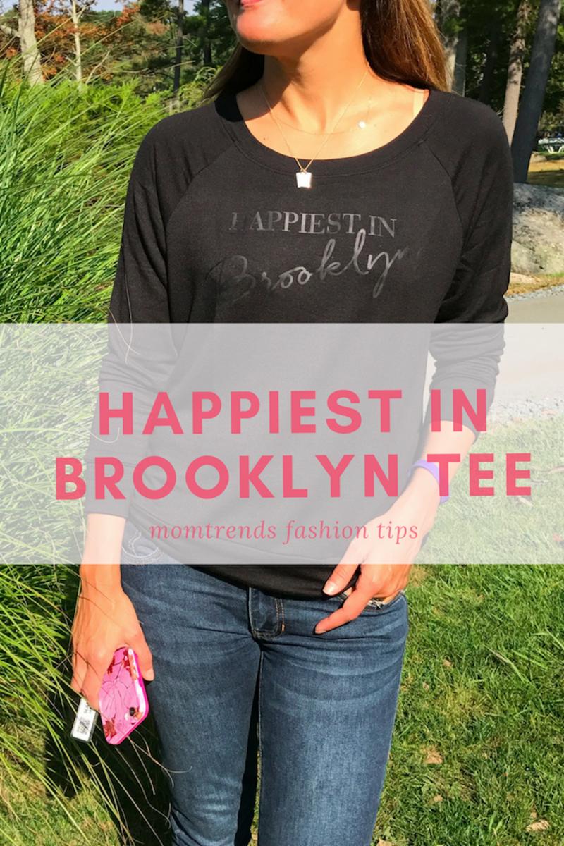 Happiest in Brooklyn tee shirt