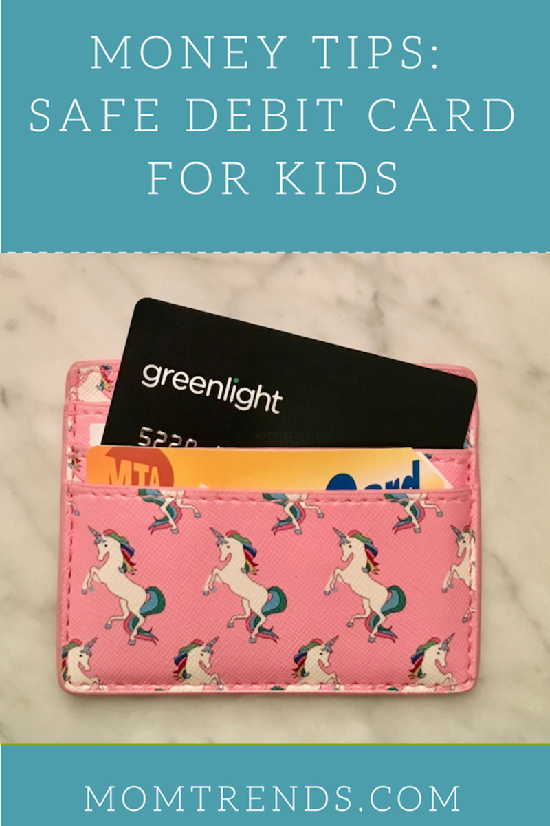 Money Tips Safe Debit Card for Kids